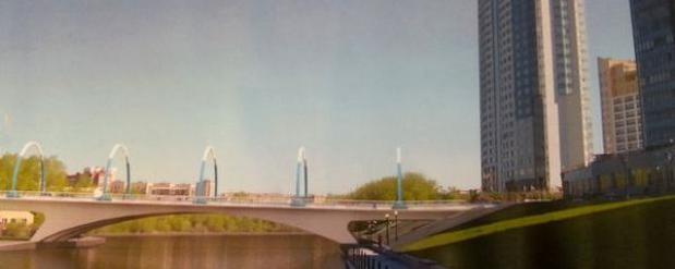 В Екатеринбурге построят мост через Исеть за 623 миллиона рублей
