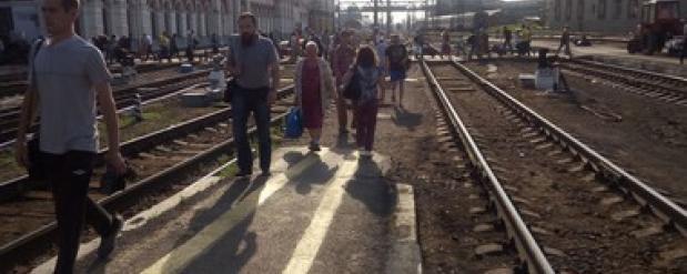 В Екатеринбурге угрожали подорвать вокзал